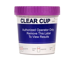 Clear Cup 10 Panel Drug Test with K2