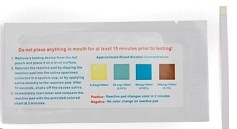 Saliva Alcohol Test Strips