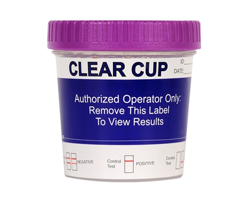 Clear Cup 5 Panel Drug Test with K2